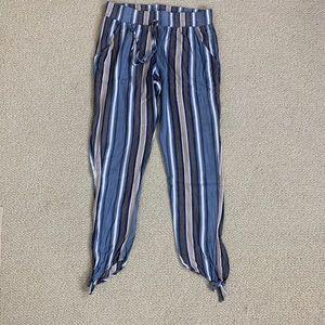 Socialite ankle tie pants size XS Nordstrom